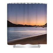 Sunset In Cabo Shower Curtain