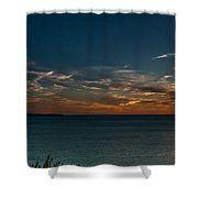Sunset In Dalmatia Shower Curtain