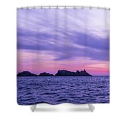 Sunset In Dubrovnik Shower Curtain