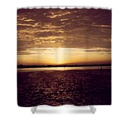 Sunset In Fl Shower Curtain