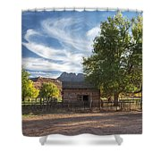Sunset In Grafton Ghost Town I Shower Curtain