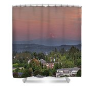 Sunset In Happy Valley Shower Curtain