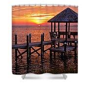 Sunset In Hatteras Shower Curtain
