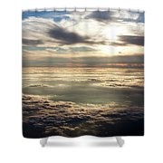 Sunset In Heaven Shower Curtain