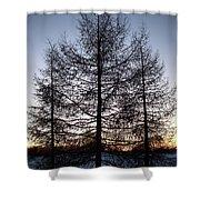 Sunset In Kemi Shower Curtain