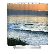 Sunset In La Jolla Shower Curtain