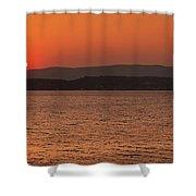 Sunset In Lassi Shower Curtain