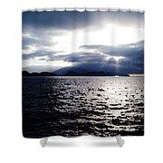 Sunset In Madeira Shower Curtain