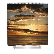 Sunset In Mexico Shower Curtain