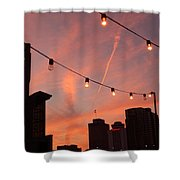 Sunset In Nashville Shower Curtain