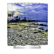 Sunset In Palma Sola Shower Curtain