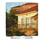Sunset In Portugal  Shower Curtain