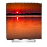 Sunset In Spain Shower Curtain