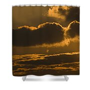 Sunset In The Heavens Shower Curtain