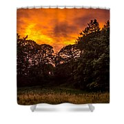 Sunset In The Shire Shower Curtain