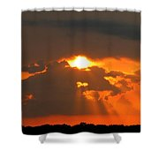 Sunset In The South Shower Curtain