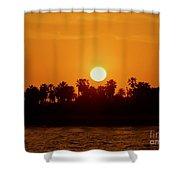 Sunset In Ventura Shower Curtain