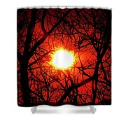 Sunset In Virginia Shower Curtain