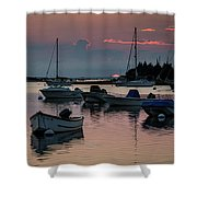 Sunset In West Falmouth Shower Curtain
