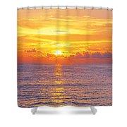 Sunset, Indian Rocks Beach, Florida, Usa Shower Curtain