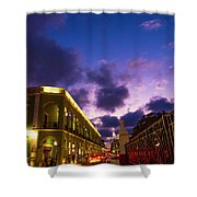 Sunset It Campeche City Downtown Shower Curtain