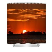 Sunset Shower Curtain by Kevin Croitz