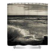 Sunset - La Jolla Cove Shower Curtain