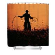 Sunset Lariat 2 Shower Curtain