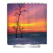Sunset Light Shower Curtain