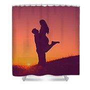 Sunset Love Shower Curtain
