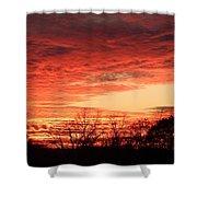 Sunset Magic Shower Curtain