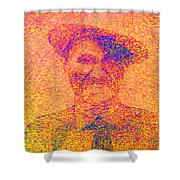 Sunset Man Shower Curtain