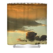 Sunset May 21 2015 Shower Curtain