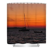 Sunset No1 Shower Curtain