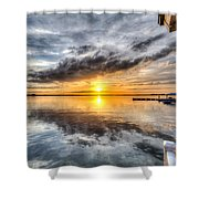 Sunset Mirroracle Shower Curtain
