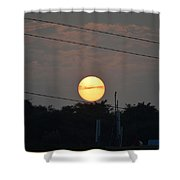 Sunset Moment Shower Curtain