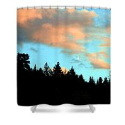 Sunset Moon Shower Curtain