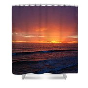 Sunset Near Carpinteria Shower Curtain