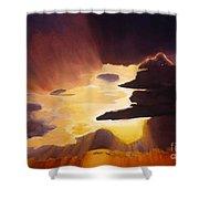Sunset Near Killeen Shower Curtain