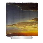 Sunset Near Rowlett Shower Curtain