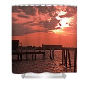 Sunset Newport Rhode Island Shower Curtain