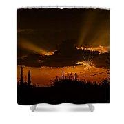 Sunset No.07 Shower Curtain