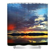 Sunset Of Colors Shower Curtain