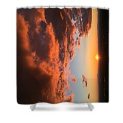 Sunset Of The West Shower Curtain