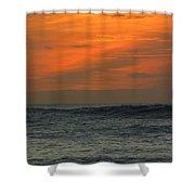 Sunset Ohau Shower Curtain