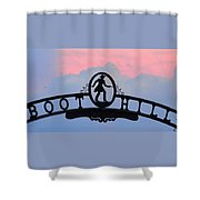 Sunset On Boot Hill Shower Curtain