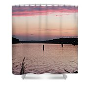 Sunset On C And D Shower Curtain