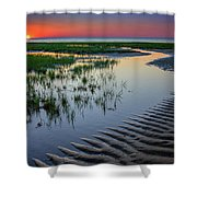 Sunset On Cape Cod Shower Curtain