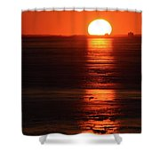 Sunset On February 26-2018 Over Barrie  Shower Curtain