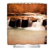 Sunset On King's River Shower Curtain